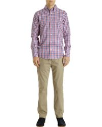 Jack Spade - Gingham Check Long Sleeve Shirt - Lyst