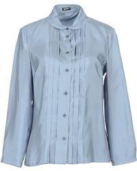 Jil Sander Navy Long Sleeve Shirt - Lyst
