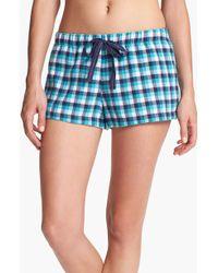 Make + Model Flannel Shorts - Lyst