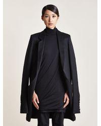 Thamanyah - Womens Angora Wool Cape Jacket - Lyst
