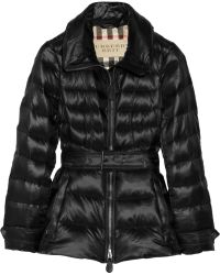 Burberry Brit - Quilted Down Jacket - Lyst