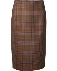 Jenni Kayne - Cut Out Pencil Skirt - Lyst