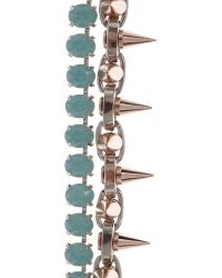 Joomi Lim - Mint Shine On Crystal Bracelet - Lyst