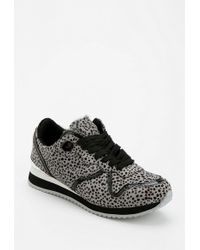 Urban Outfitters - Jeffrey Campbell Cura Animal Print Running Sneaker - Lyst