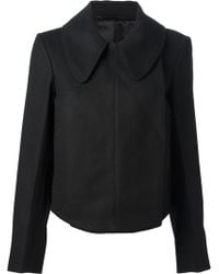 Lemaire Fitted Oversize Collar Jacket - Lyst