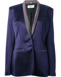 Jean Paul Gaultier One Button Blazer - Lyst