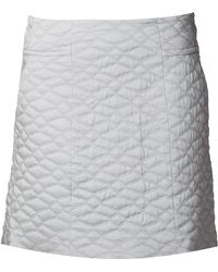 Theyskens' Theory Quilted A-line Skirt - Lyst