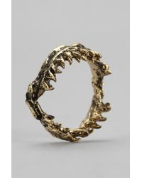 Urban Outfitters - Obey Shark Jaw Ring - Lyst