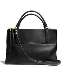 Coach The Borough Bag in Pebbled Leather - Lyst