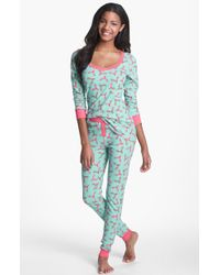 Steve Madden   Cosy Up Printed Thermal Set   Lyst