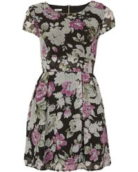Topshop Floral Print Dress By Wal G - Lyst
