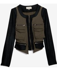 Georgie - Exclusive Jasper Combo Army Jacket - Lyst