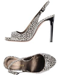 Ernesto Esposito High-Heeled Sandals - Lyst