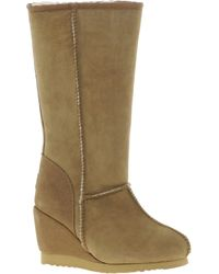 Love From Australia - Zip Tall Wedge Boots - Lyst