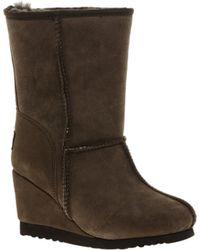 Love From Australia - Zip Short Wedge Boots - Lyst