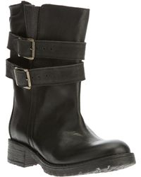 Societe Anonyme - Buckle Boot - Lyst
