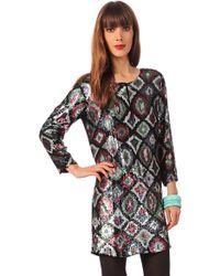 Antik Batik Trapezium Dress Brown1dre - Lyst