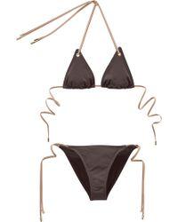 Chloé - Twopiece Swimsuit B00 - Lyst