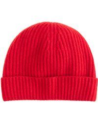 J.Crew - Cashmere Hat - Lyst