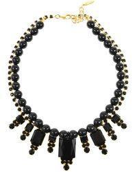 Joomi Lim - Beaded Baroque Crystal Necklace - Lyst