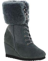 Love From Australia Nova Ii Wedge Boots - Lyst