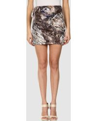 Aminaka Wilmont Mini Skirt - Lyst