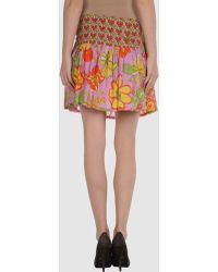 Antik Batik Mini Skirt - Lyst