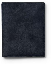 Club Monaco - Half Calf Passport Case - Lyst