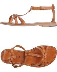 Exquisite J Sandals - Lyst