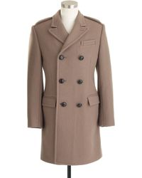 J.Crew Ludlow Double breasted Topcoat in English Wool - Lyst