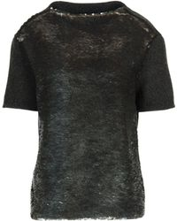 Marc Jacobs Short Sleeve Sweater - Lyst
