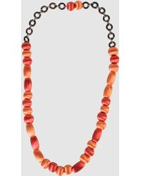 Miss Sixty Necklace - Lyst
