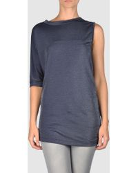 MM6 by Maison Martin Margiela Short Sleeve Tshirt - Lyst