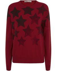 Simeon Farrar - Star Print Cashmere Sweater - Lyst