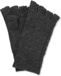 Acne Studios - Cusco Wool and Alpacablend Fingerless Gloves - Lyst