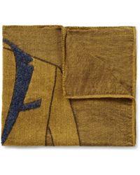 Boglioli - Jacket Patterned Woven Pocket Square - Lyst