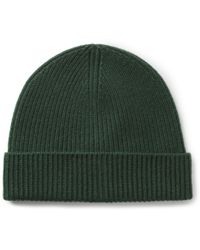 J.Crew | Ribbed Cashmere Beanie Hat | Lyst