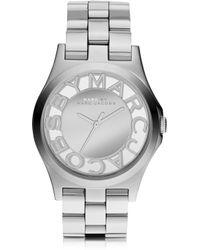 Marc By Marc Jacobs Henry Skeleton 40mm Bracelet Watch - Lyst