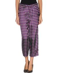Marni Cropped Trousers - Lyst