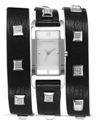 Vince Camuto - Triple Wrap Studded Watch  - Lyst