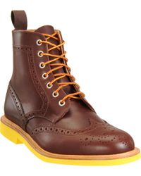 Mark McNairy New Amsterdam Brogue Boot - Lyst