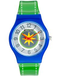 Boutique Moschino - Moschino Cheap Chic Be Fashion Green Pop Watch - Lyst