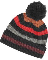 Sonia Rykiel - Mesh Striped Wool Womens Hat - Lyst