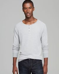 Threads For Thought - Thermal Henley - Lyst