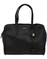 Alexander McQueen Padlock Zip Around Bag - Lyst