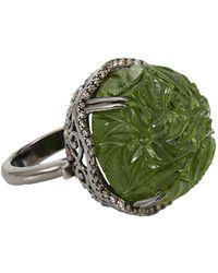 Bochic - Carved Peridot Ring - Lyst