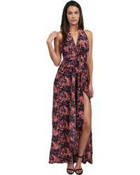 Thayer | Halter Maxi Dress | Lyst