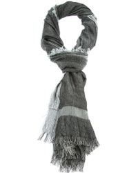 Dior Homme - Fringed Scarf - Lyst