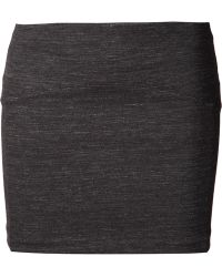 Getting Back to Square One - Fitted Mini Skirt - Lyst
