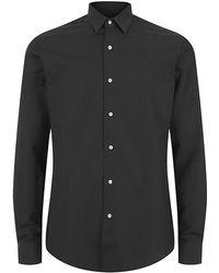 Mr Start - Microdot Slim Fit Shirt - Lyst